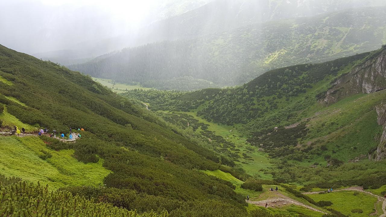 Piękne górskie widoki