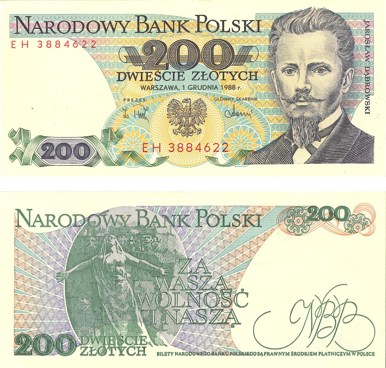 Banknoty z okresu PRL