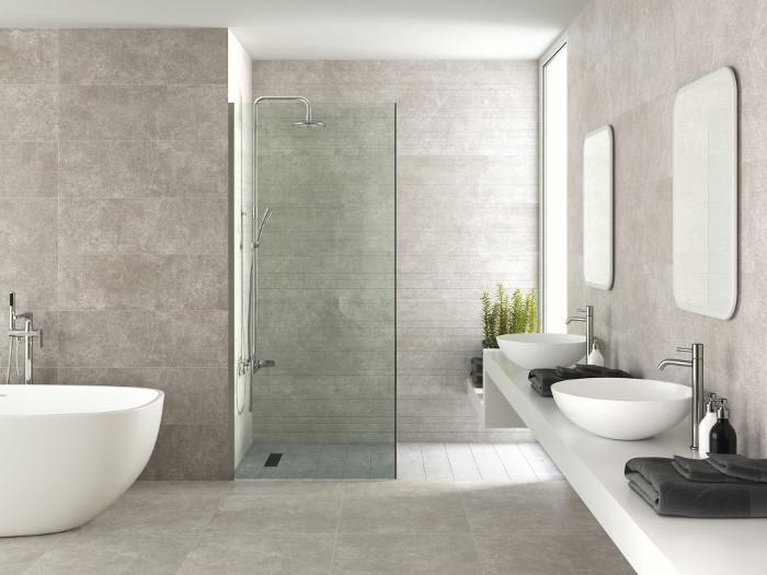 Kolekcja Opoczno alcamo jako baza projektu łazienki.